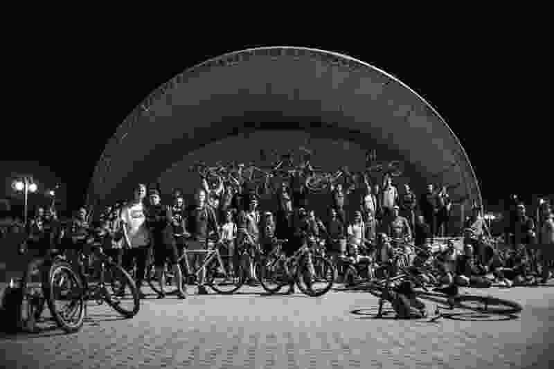 В Тамбове прошёл ночной велопробег