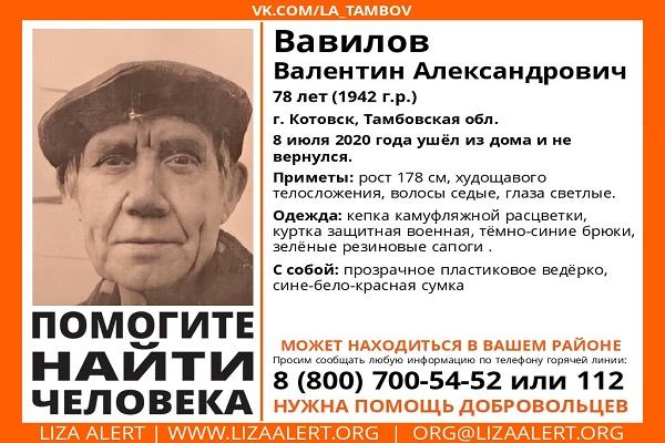 В Тамбовской области пенсионер ушел за ягодами и не вернулся