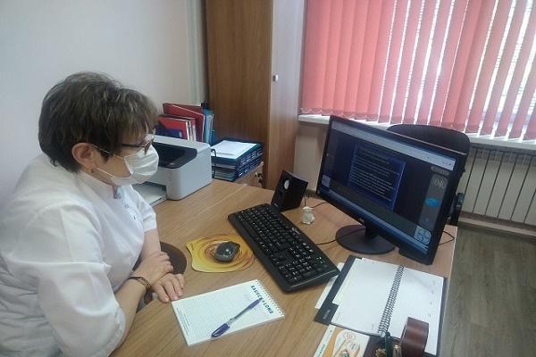 В Тамбовской офтальмологической клинической больнице активно развивают телемедицинские технологии