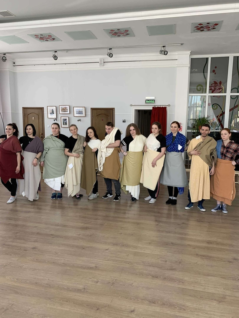 В Тамбовском молодёжном театре готовят декорации и костюмы к новому спектаклю