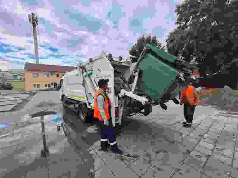 За полгода в регионе вывезли 126 тысяч тонн мусора