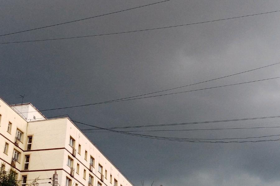 Завтра в Тамбовской области ожидаются грозы и град