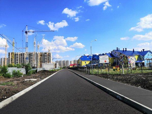 Дороги к новым детским садам на севере Тамбова почти готовы