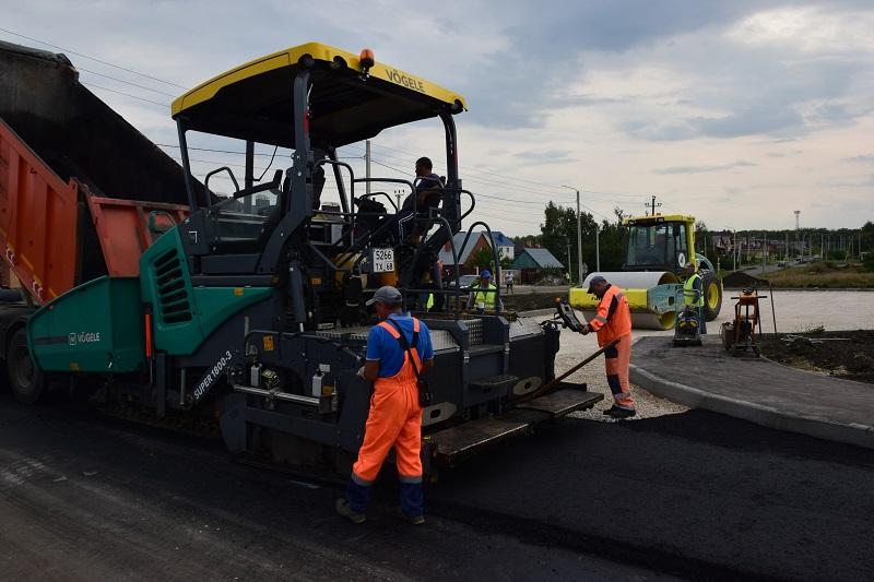Дорогу к новым детским садам на севере Тамбова построят раньше срока