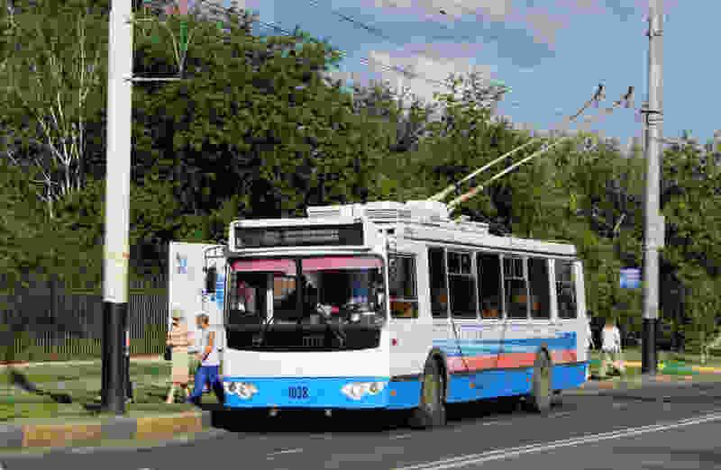 Ещё один троллейбус заменили автобусом