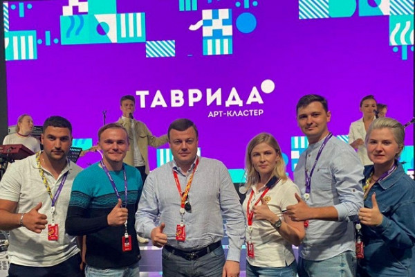 Губернатор Александр Никитин на«Тавриде» поддержал тамбовский проект