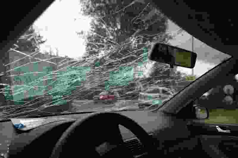 Из-за аварийной ситуации мичуринский водитель «избил» машину оппонента