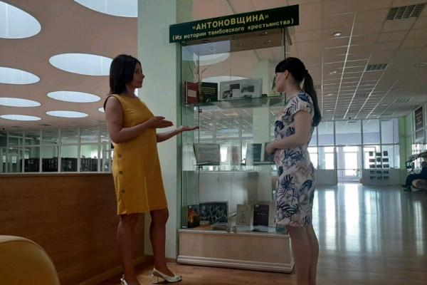 К100-летию начала крестьянского восстания вТамбове открылись выставки