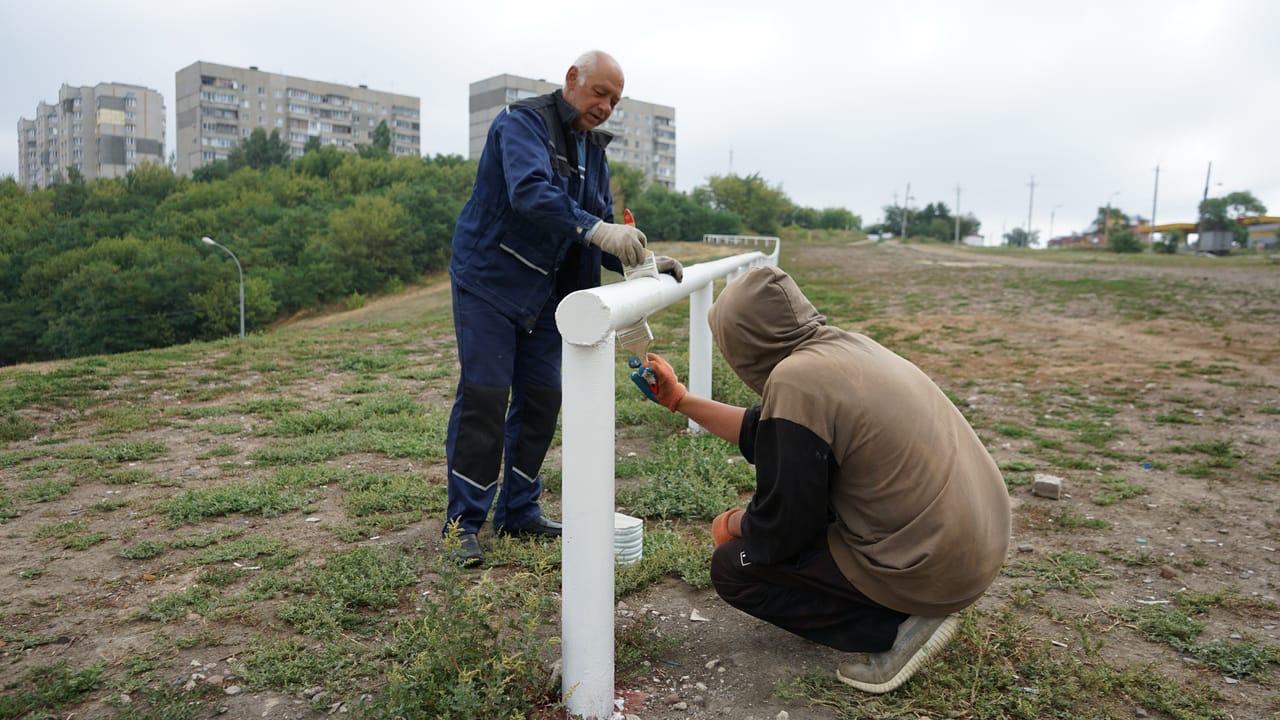 На Ласковском пляже в Тамбове установили 186 метров ограждения