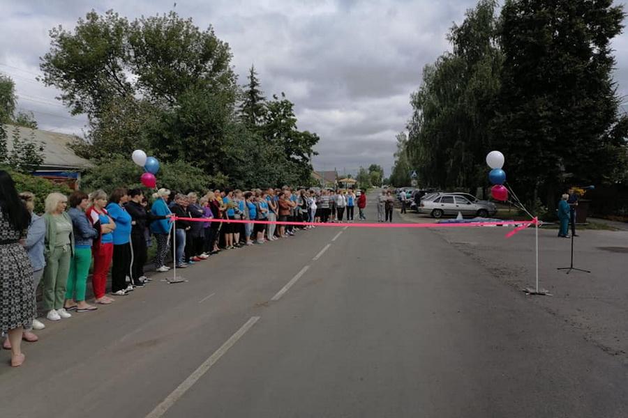 По улице Воронежской в Рассказове открыли движение