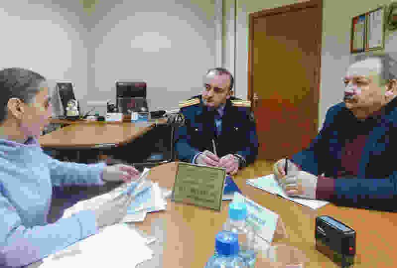 По всему региону начинаются выездные приёмы граждан заместителя руководителя СУ СК РФ по Тамбовской области – график
