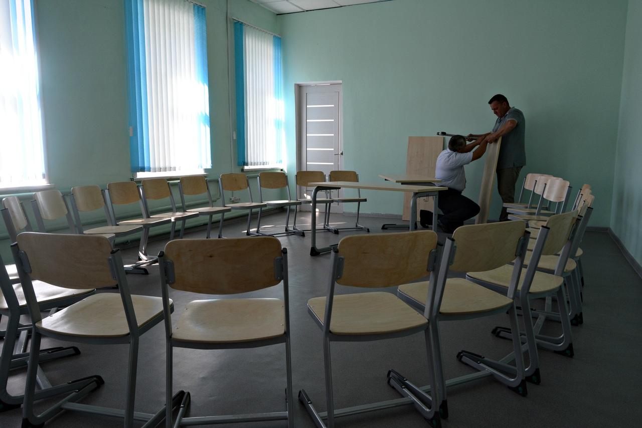 Рассказовский район получил субсидии для закупки оборудования для Верхнеспасской школы