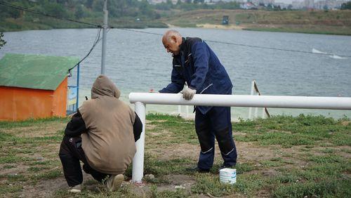 «Спецтехуниверсал» обеспечил безопасность отдыхающих на пляже Ласковский