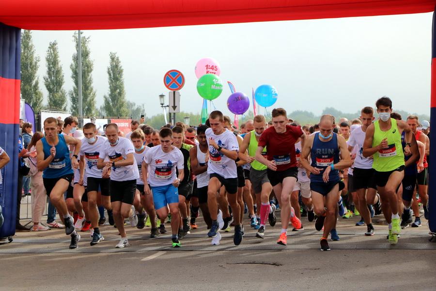 Тамбовские бегуны приняли участие в установлении рекорда Гиннесса