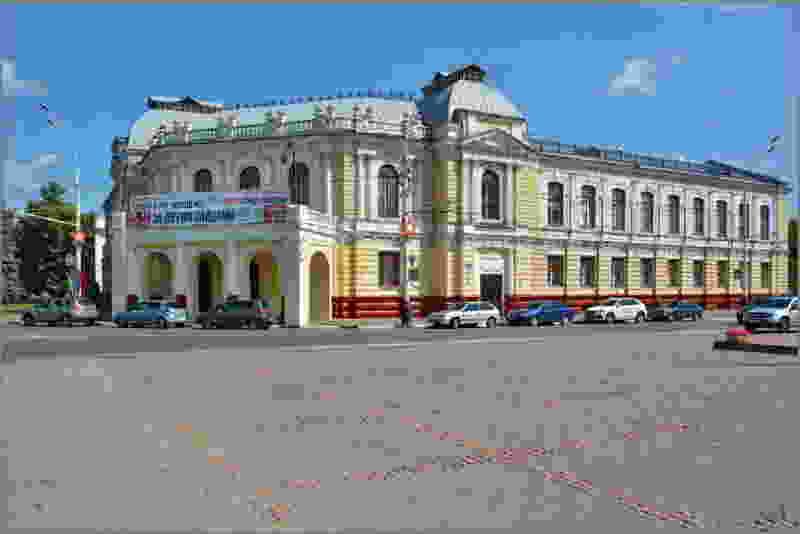 Тамбовский драмтеатр переносит сценическую площадку на улицу