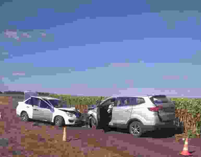 В автокатастрофе на полевой дороге в Тамбовской области погиб мужчина