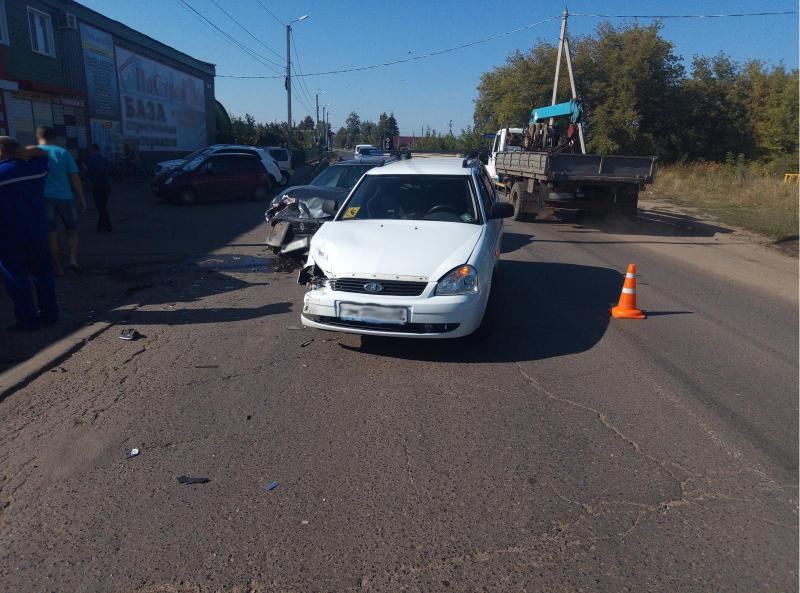 В ДТП на территории Рассказова пострадали два человека