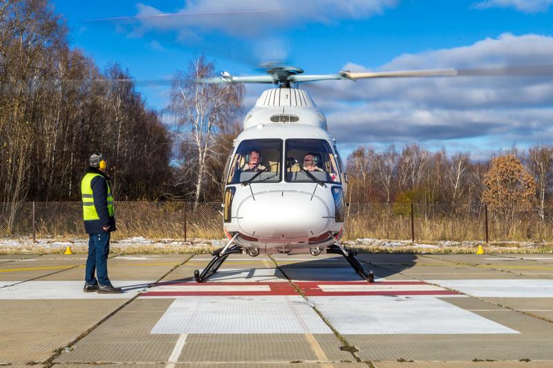 В Мичуринске строят вертолётную площадку для транспортировки тяжёлых больных