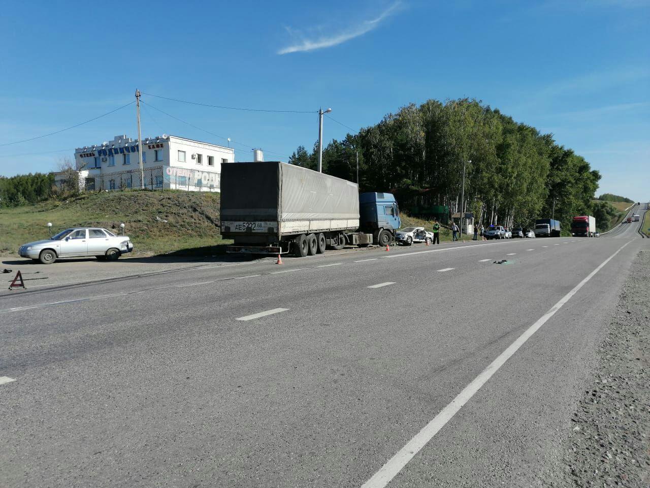 В страшной аварии в Тамбовской области пострадали двое детей и трое взрослых: все живы