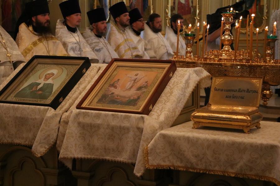 В Тамбов доставили мощи святой Матроны Московской