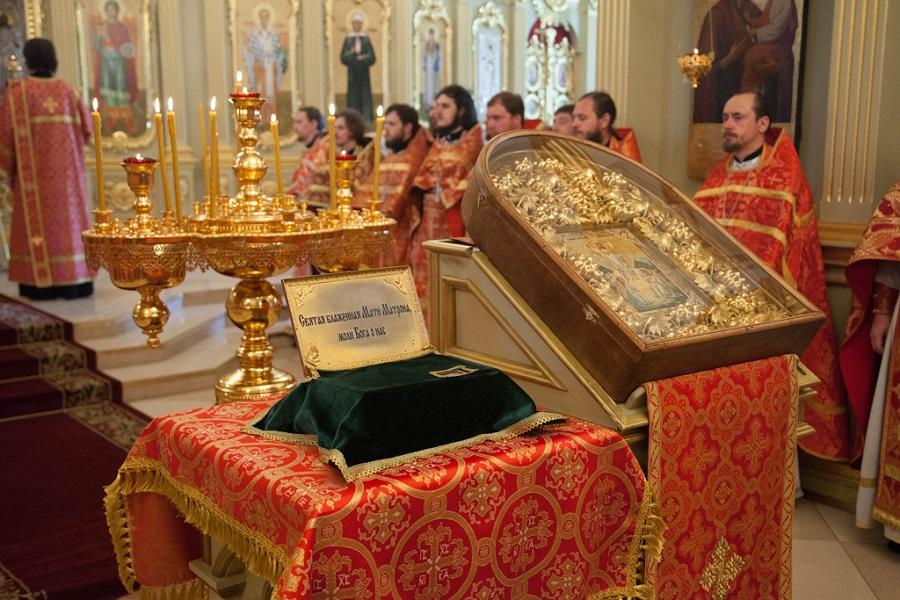 В Тамбов прибудет ковчег с частицей мощей святой Матроны Московской