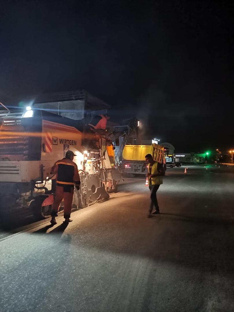 В Тамбове дорожники приступили к ремонту дороги на Лермонтовской