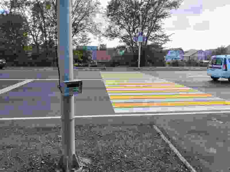 В Тамбове на Рассказовском шоссе заработают новые светофоры с кнопками «по требованию»