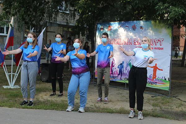 В Тамбове стартовал второй сезон спортивного фестиваля дворового спорта