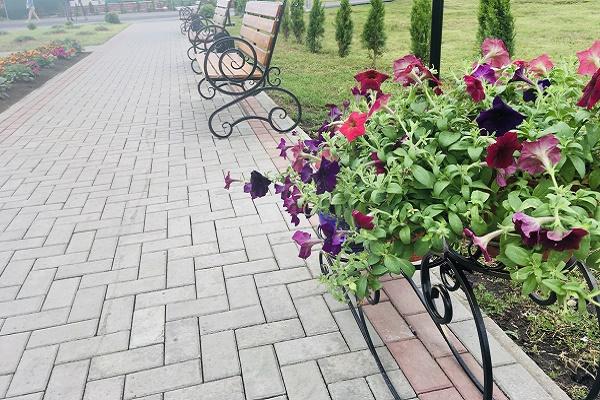 В Тамбовской области благоустроены 153 дворовые территории
