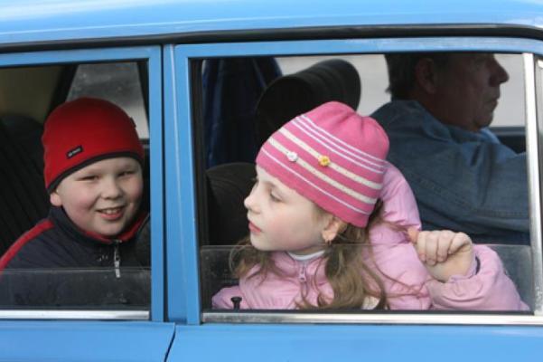 В Тамбовской области будут ловить нарушителей правил перевозки детей
