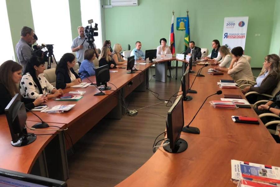 В Тамбовской области подписано соглашение о привлечении добровольцев при проведении выборов