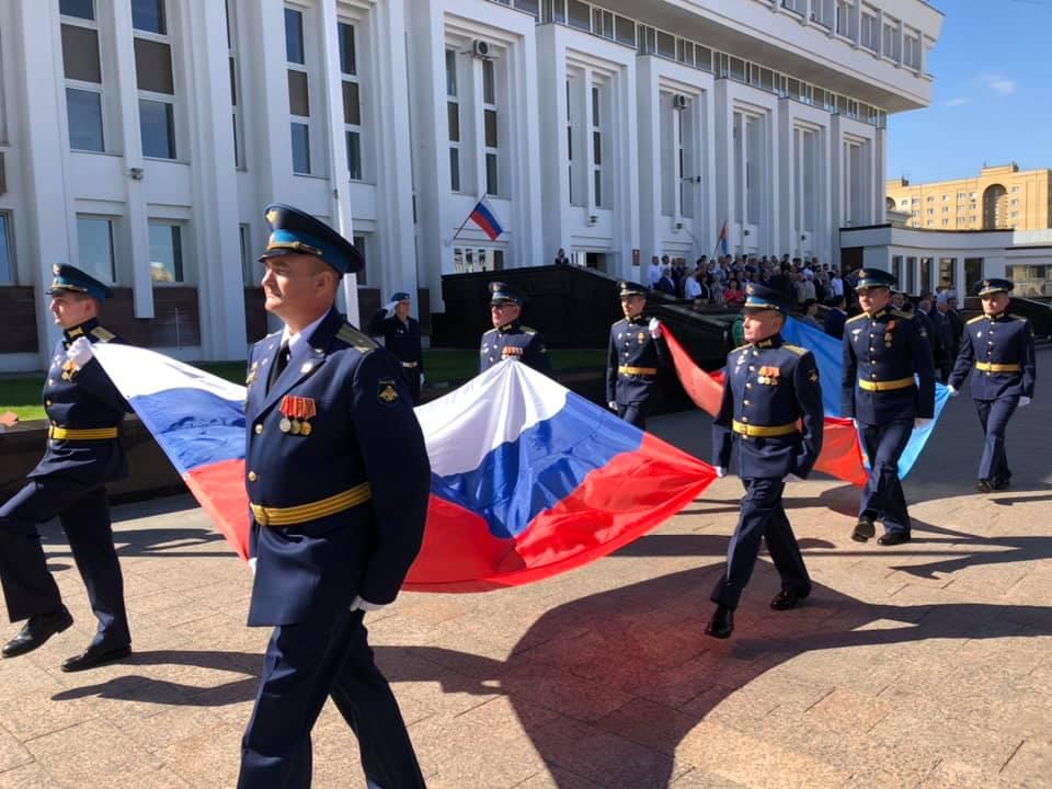 В Тамбовской области прошли торжественные мероприятия, посвященные Дню Государственного флага РФ