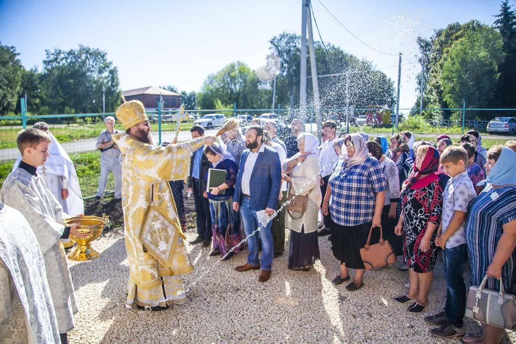 В Знаменском районе освятили храм в честь преподобного Серафима Саровского