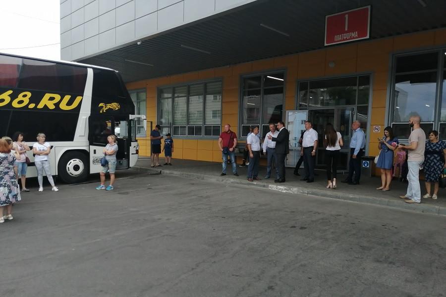 """Вице-губернатор оценил работу автовокзала """"Северный"""" в Тамбове"""
