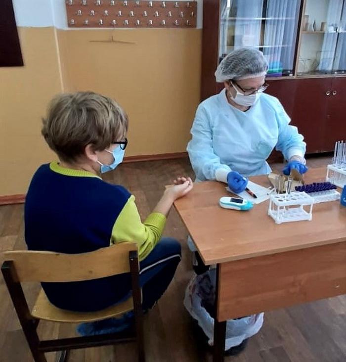 Врачи Тамбовской детской больницы провели диспансеризацию детей-сирот в Рассказовском районе