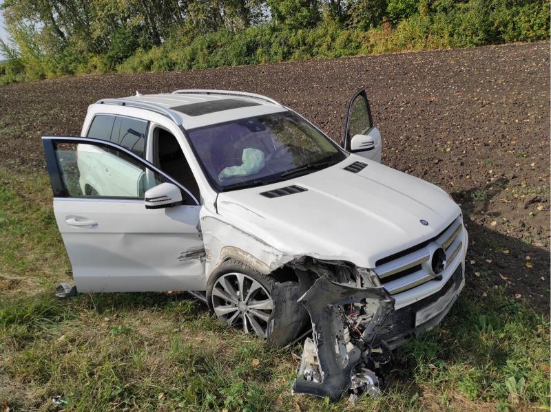 За сутки в авариях под Тамбовом пострадало трое детей