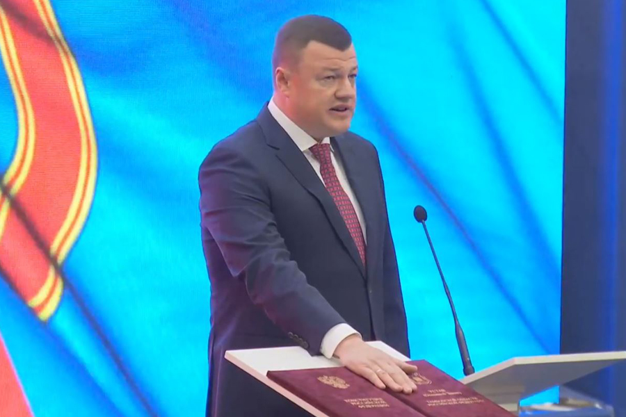Александр Никитин вступил в должность главы администрации Тамбовской области