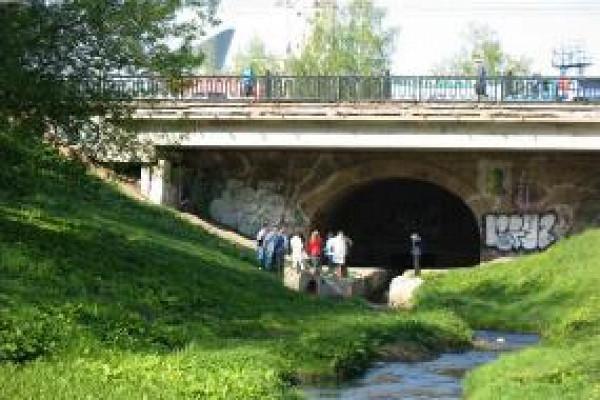 Автомобильный мост, которому более 150лет, реконструируют вцентре Тамбова