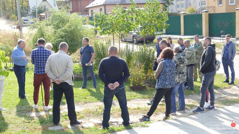 Глава Котовска провел встречу с жителями проезда Стройгородка