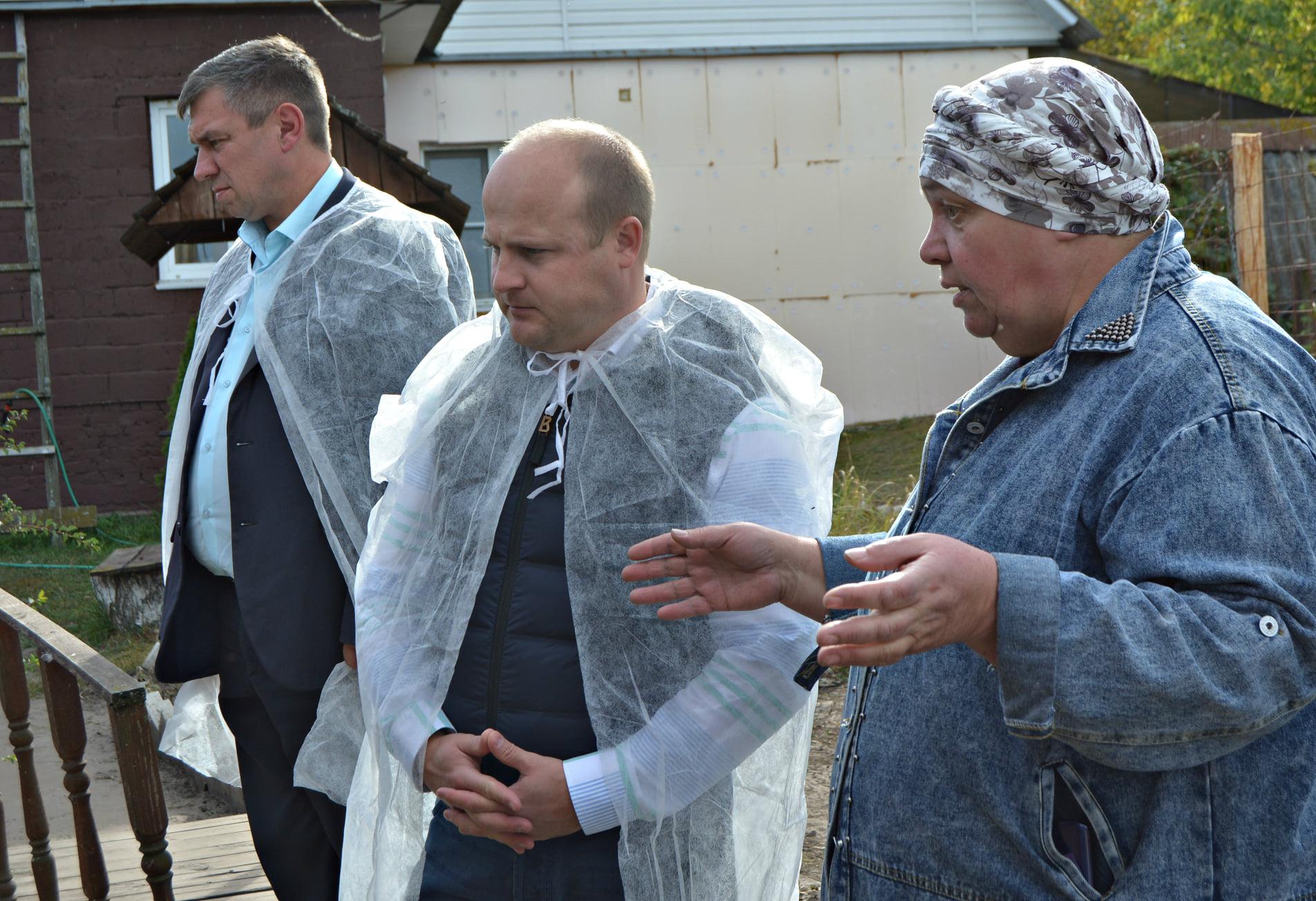 Глава Рассказовского района посетил фермерское хозяйство