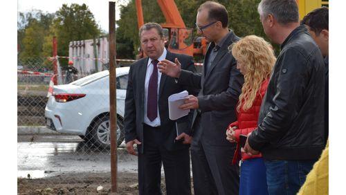 Глава Тамбова проконтролировала ход работ по подготовке города к отопительному сезону