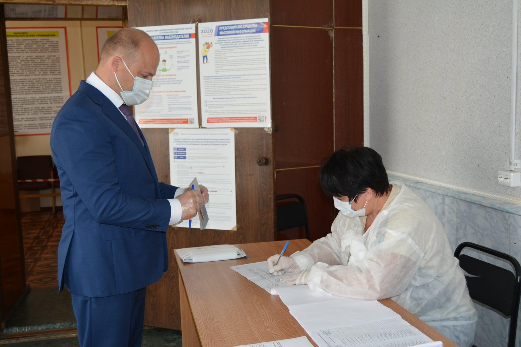 Главы городов и районов уже проголосовали на выборах в Тамбовской области