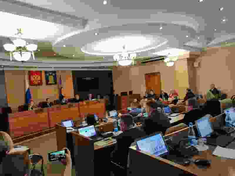 Городской избирком Тамбова озвучил официальные результаты выборов в думу