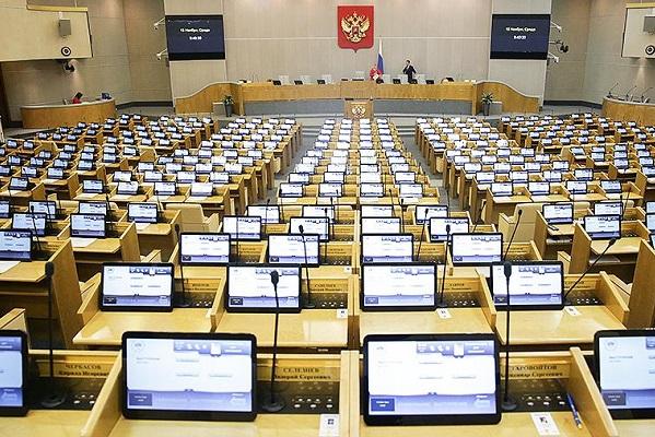 Госдума частично переходит на удаленный режим работы