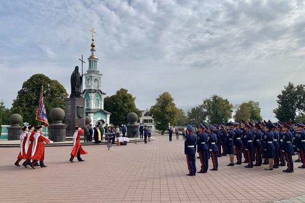 Кадеты Казачьей кадетской школы имени графа И. И. Воронцова-Дашкова приняли присягу
