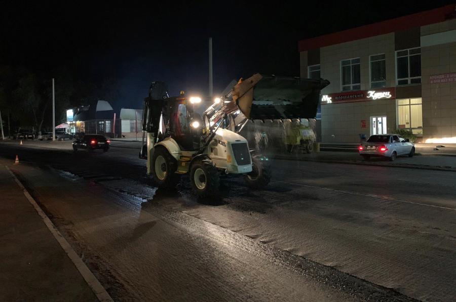На некоторых улицах Тамбова ремонт дорог подходит к концу