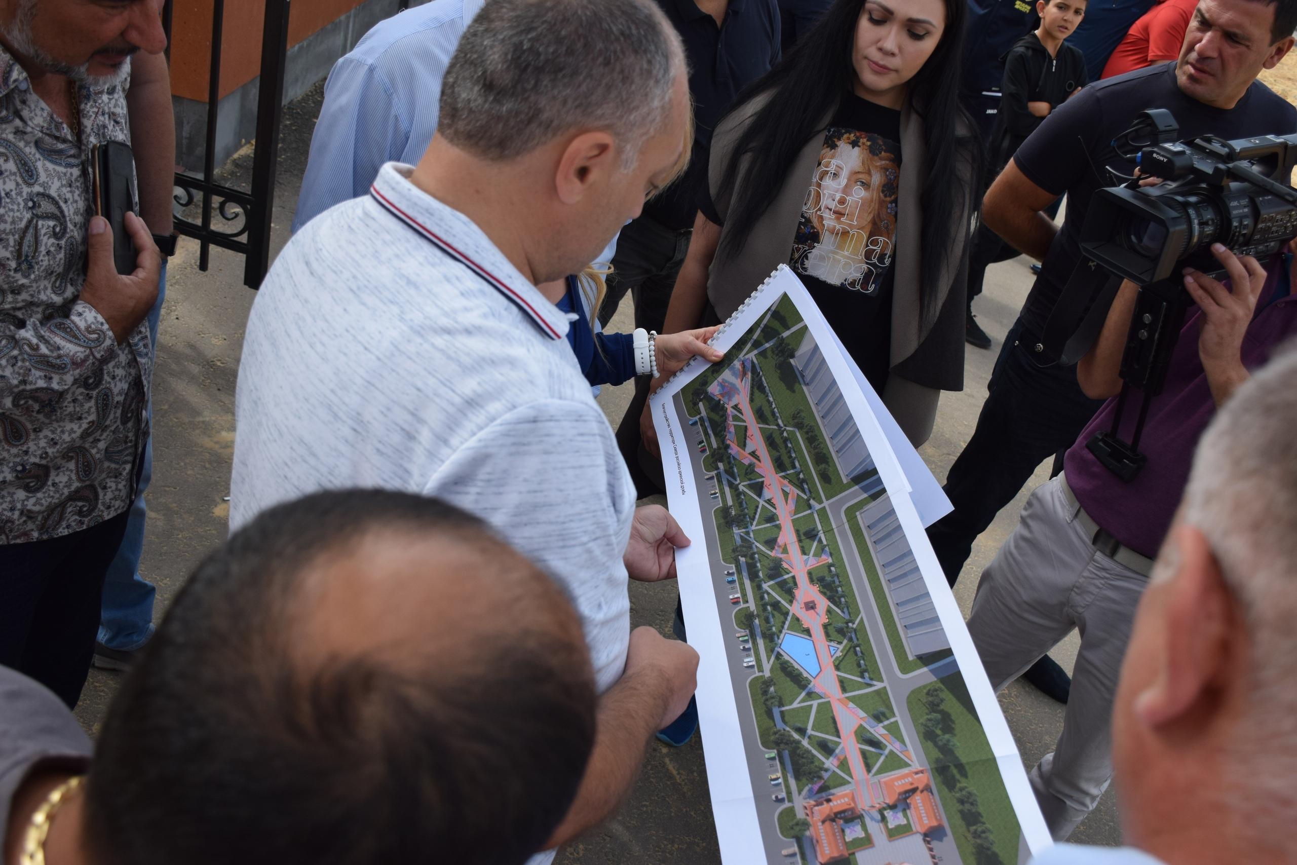 На западе Тамбова появится новый сквер