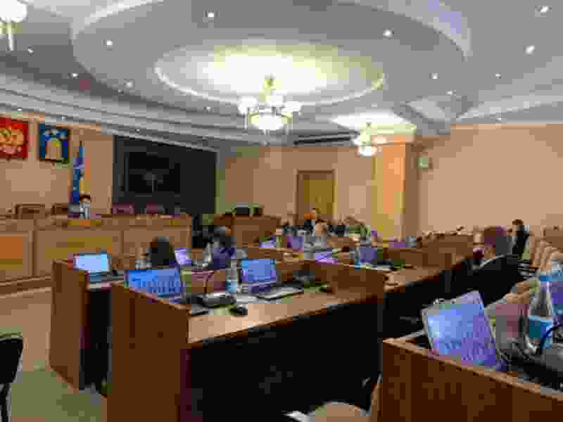 На заседание Тамбовской гордумы шестого созыва пришло всего шесть депутатов