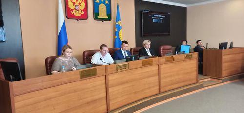 Об итогах внеочередного 74-го заседания Тамбовской городской Думы