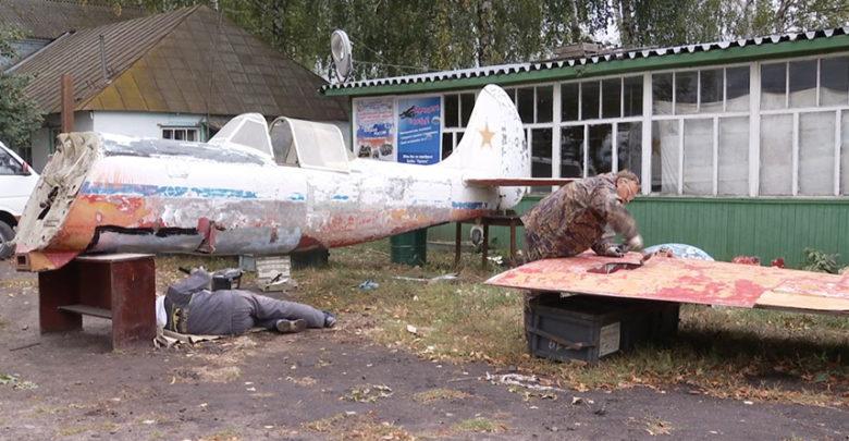 Отреставрированный Як-50 установят на аэродроме под Тамбовом